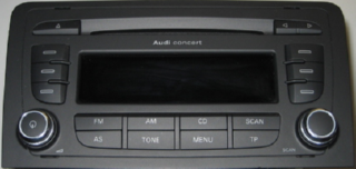 Audi Concert A3 2008 aka Blaupunkt Digiceiver & Twinceiver in action