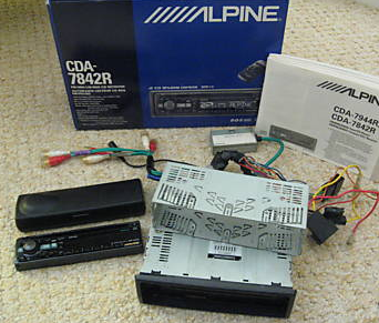 Alpine CDA-7842R car receiver