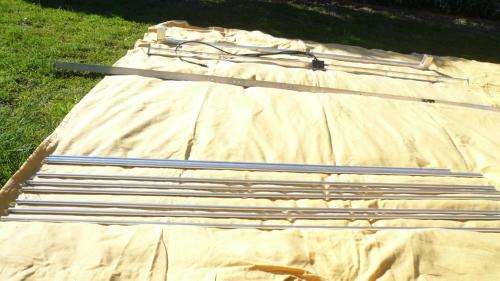 Unassembled Korner 15.11 antenna